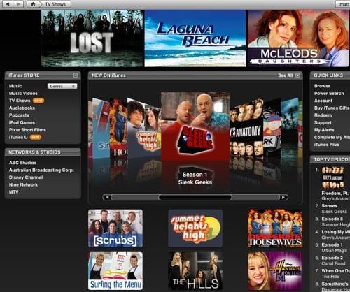 iTunes, ahora servicio de TV online