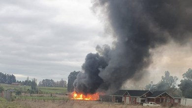 Photo of INCENDIO AFECTÓ UNA VIVIENDA EN OSORNO
