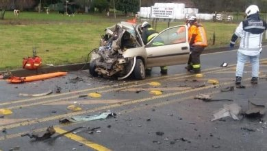 Photo of MUJER Y MENOR DE EDAD FALLECEN EN TRÁGICO ACCIDENTE DE TRANSITO