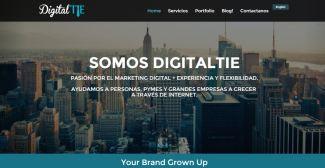 DT - Website homepage