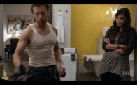 "TJ Thyne and Michaela Conlin in ""Bones"""