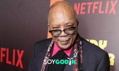 Quincy Jones - Credito: Eric Charbonneau Rex - Fuente: Shutterstock