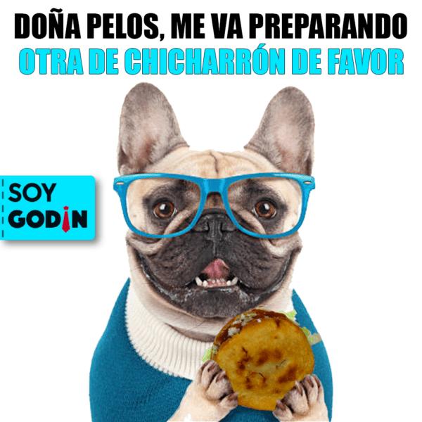 GORDITAS DE CHICHARRÓN