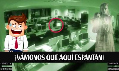 Un fantasma en la oficina, ¿la niña del pasillo?