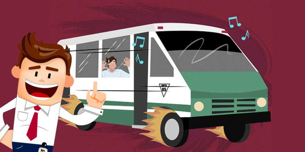 Microbuseros desean que aumente 2 pesos la tarifa del transporte publico