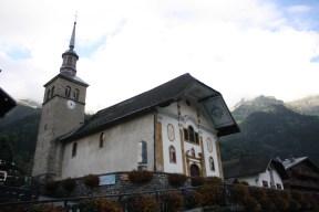 Church in Les Contamines