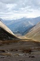 View from Col de la Seigne