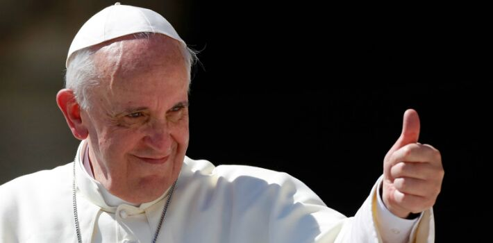 El Papa Francisco apoya las uniones civiles entre parejas del mismo sexo