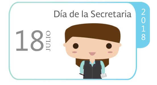 Hoy se celebra el Día de la Secretaria