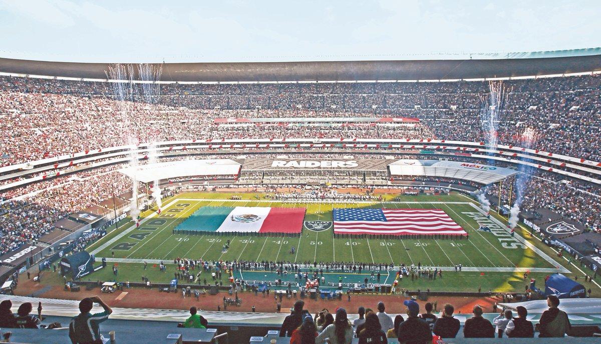 La #NFL regresa a México|Chiefs y Chargers se enfrentarán en el Estadio Azteca