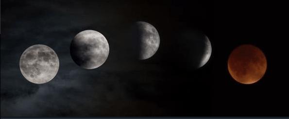 Guía para principiantes para ver el eclipse de Luna