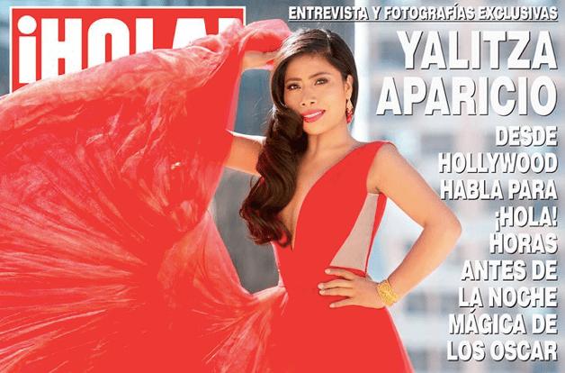 Yalitza Aparicio en la portada de la revista ¡HOLA!