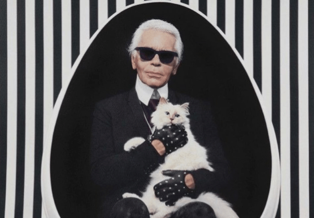 Choupette, la gata que heredará la fortuna de Karl Lagerfeld