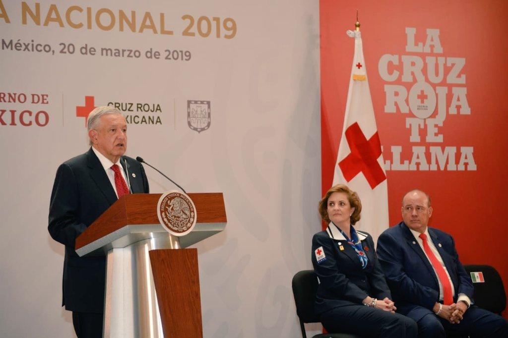 Inicia la Colecta Nacional Cruz Roja Mexicana 2019