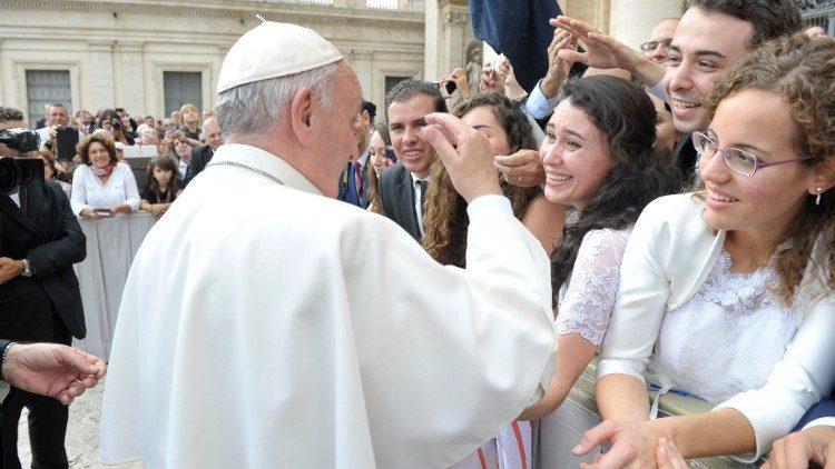 El Papa Francisco y los jóvenes
