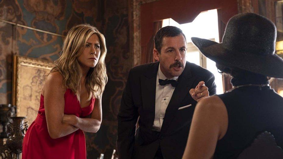 Netflix presume los millones de espectadores de 'Murder Mystery'