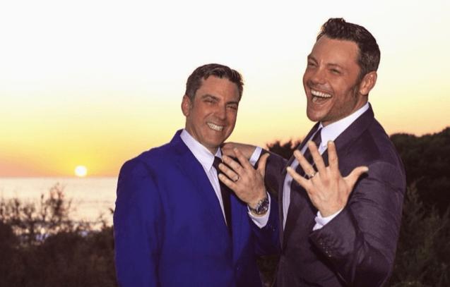Tiziano Ferro anuncia que contrajo matrimonio con su novio