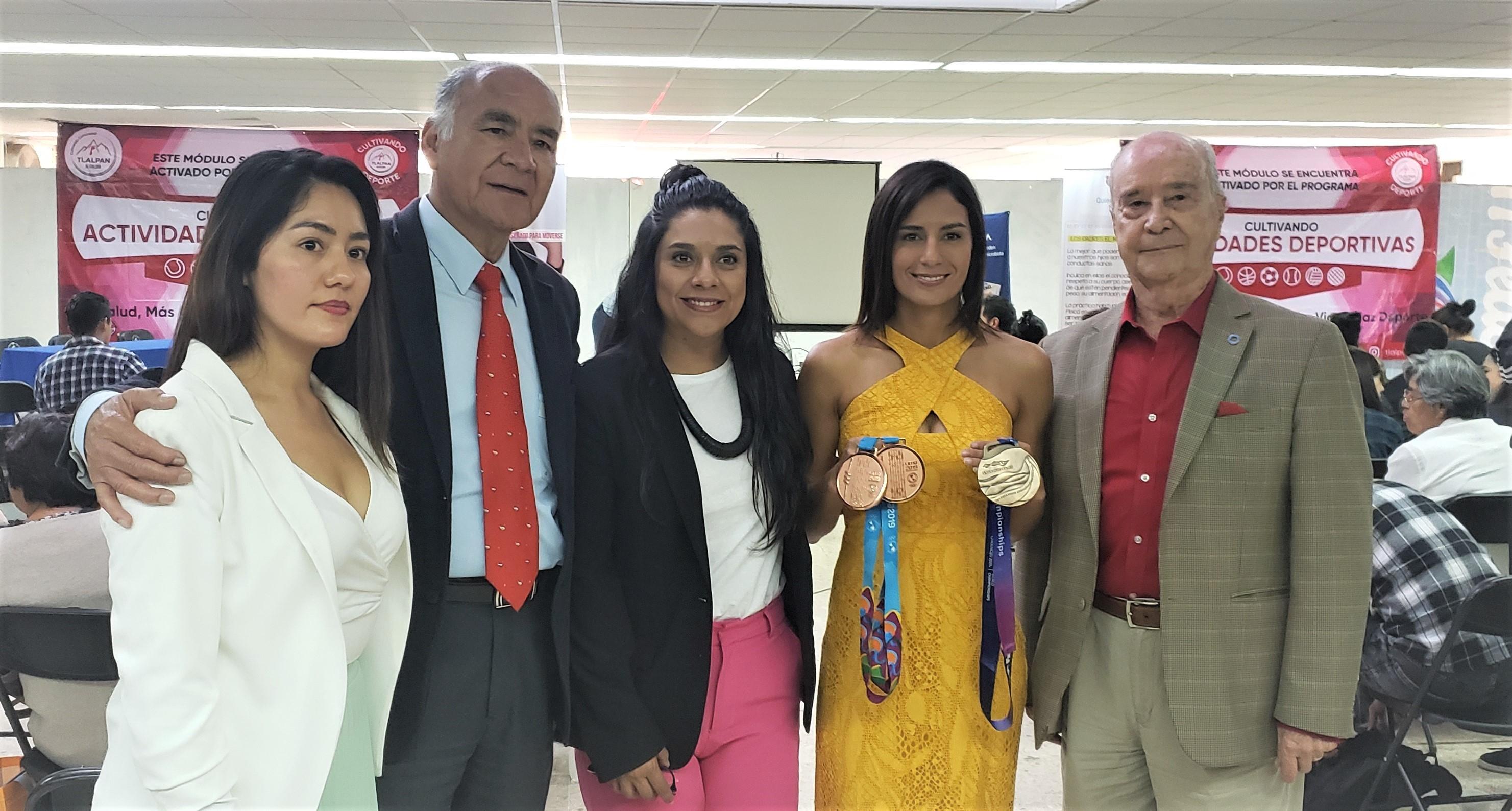 Paola Espinosa y la iniciativa 'Quiero Saber Salud' unen esfuerzos a favor de la promoción de hábitos saludables