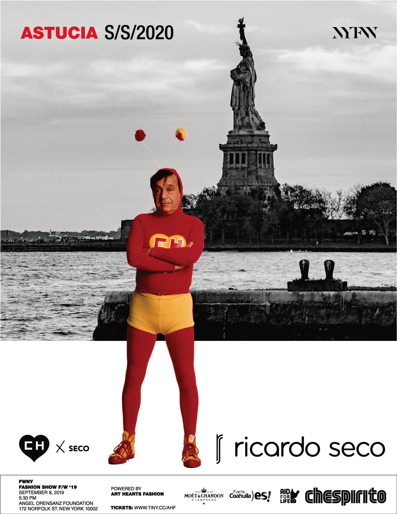 La nueva colaboración entre Chespirito y Ricardo Seco
