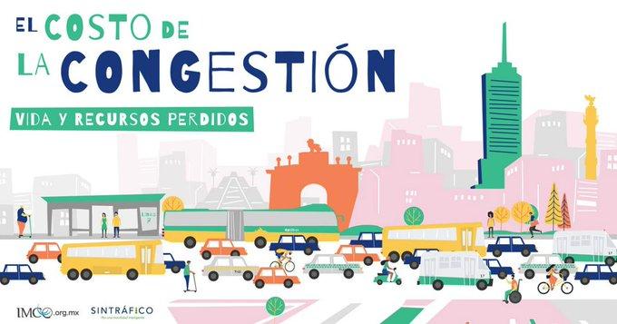 Las pérdidas económicas de los congestionamientos vehiculares