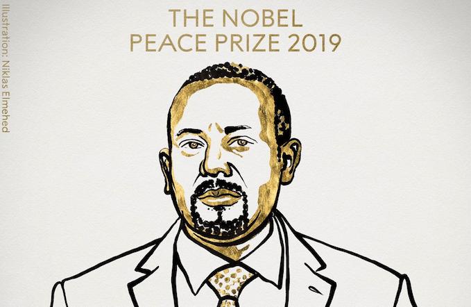 El primer ministro de Etiopía gana el Nobel de la Paz