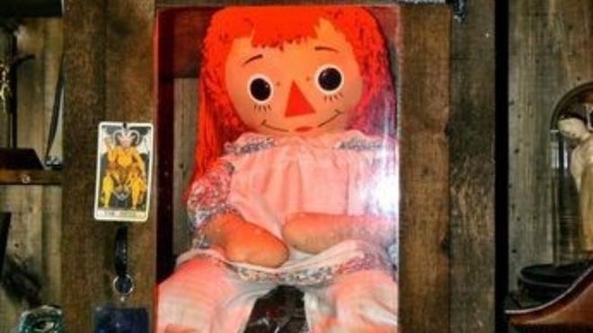 Annabelle desaparece misteriosamente del museo de los Warren
