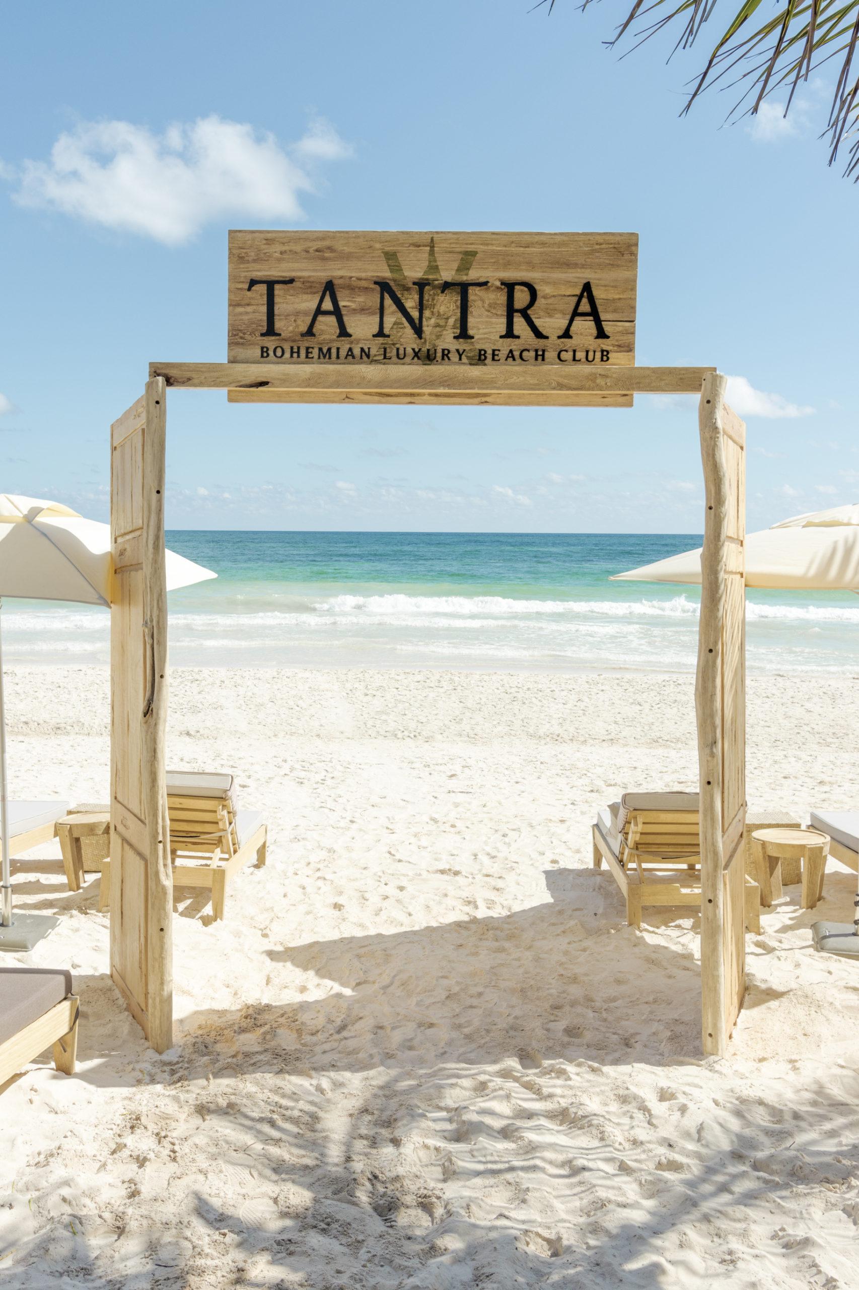 Tantra bohemian luxury beach club tulum: audaz, bohemio y sofisticado