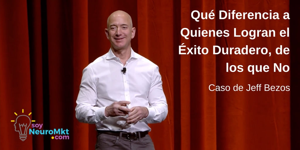 Diferencia Entre Quienes Logran el Éxito y los que No, Caso de Jeff Bezos