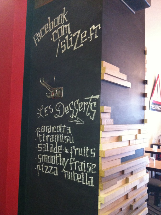 slize pizza paris