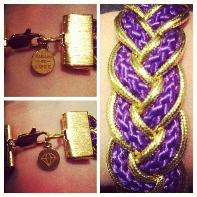 Cailles de Luxe bracelet Petit Poney