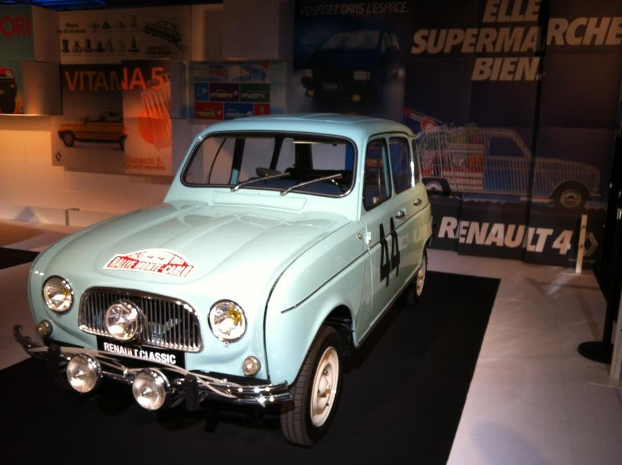 4L Renault Salon de l'auto