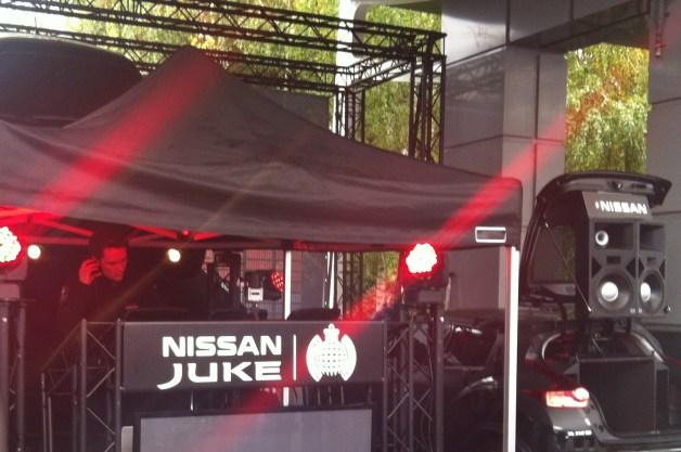 Concert Nissan Juke Dubstep Ministry of sound