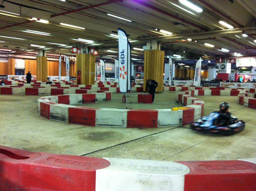 Karting Electrique salon de l'auto