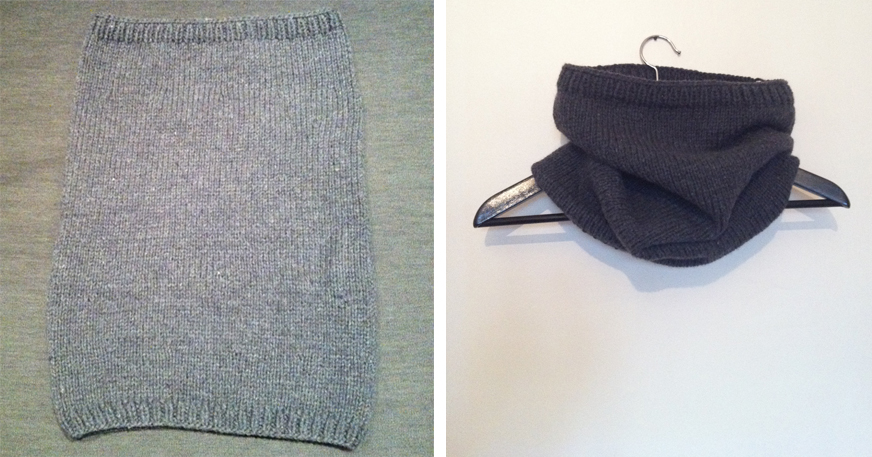 DIY Snood tricot aiguille circulaire 1-1