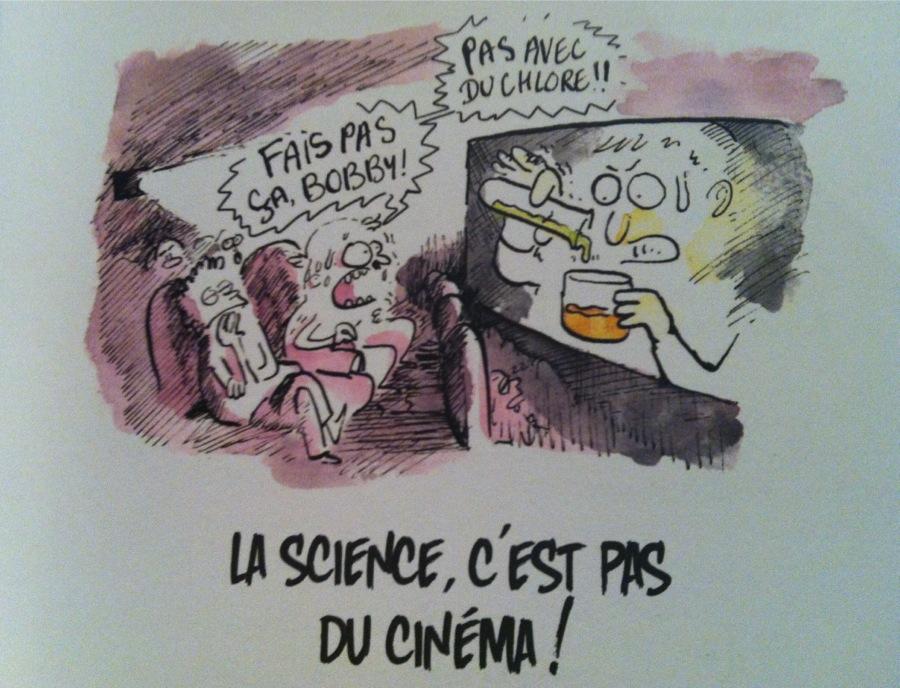 La science, c'est pas du cinéma !