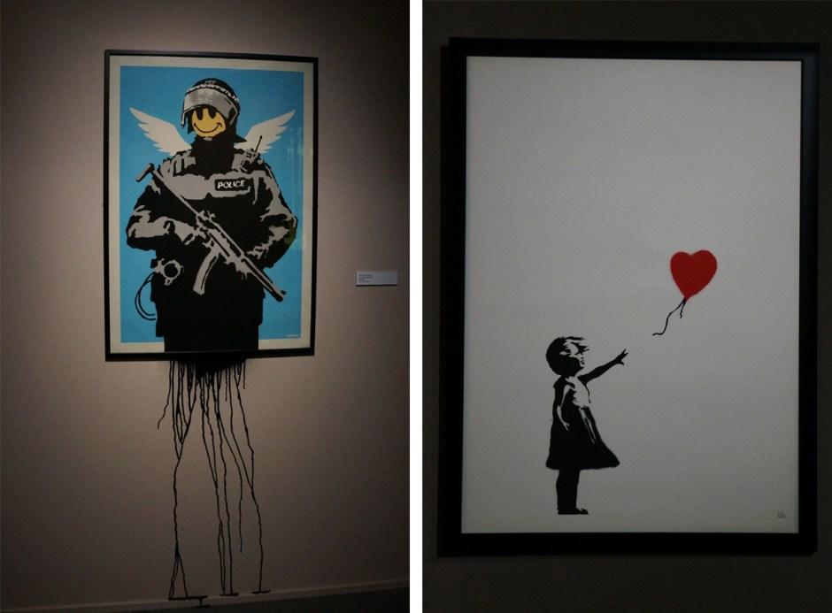 Expo au dela du street art musee poste banksy