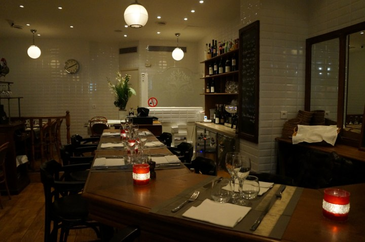 Bar touch in Paris avis restaurant