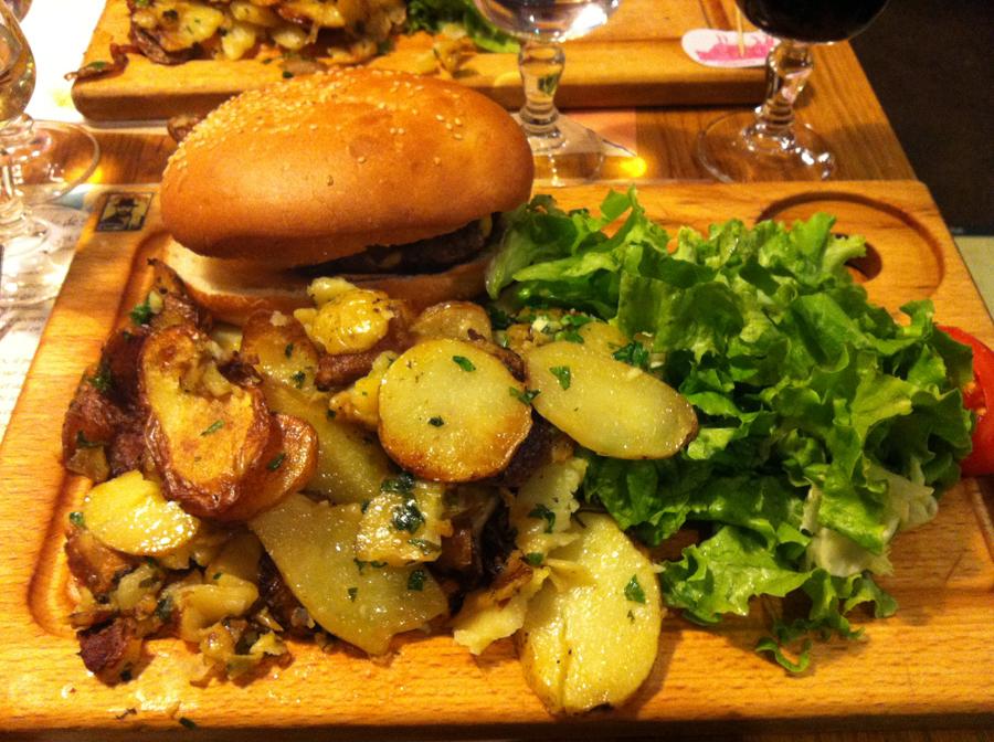 Chez Papa restaurant avis Burger au foie gras