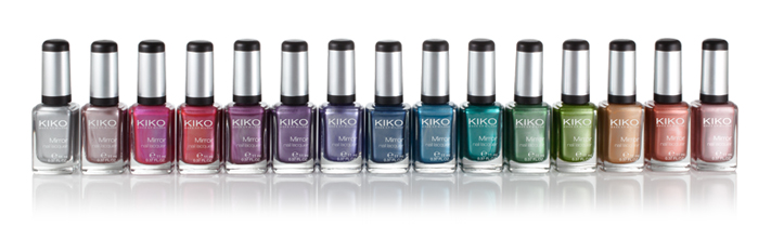 Kiko Mirror Nail Lacqueur test Swatch