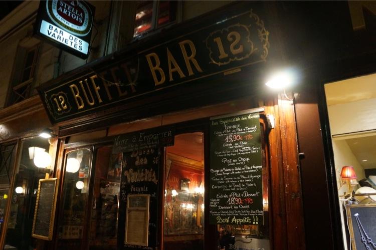 Bar des Varietes passage panorama paris avis