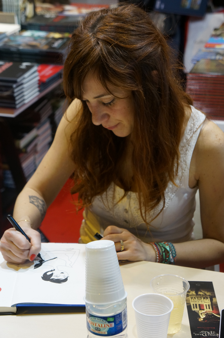 Dédicace Pénélope Bagieu Salon du Livre 2013