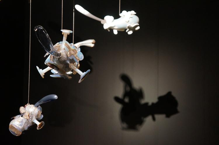 Exposition murano fragile musée maillol Maria Grazia Rosin ice virus x