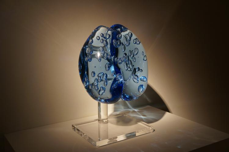 Exposition murano fragile musée maillol Marie Laure Viébel Oxygène, Graines de vie