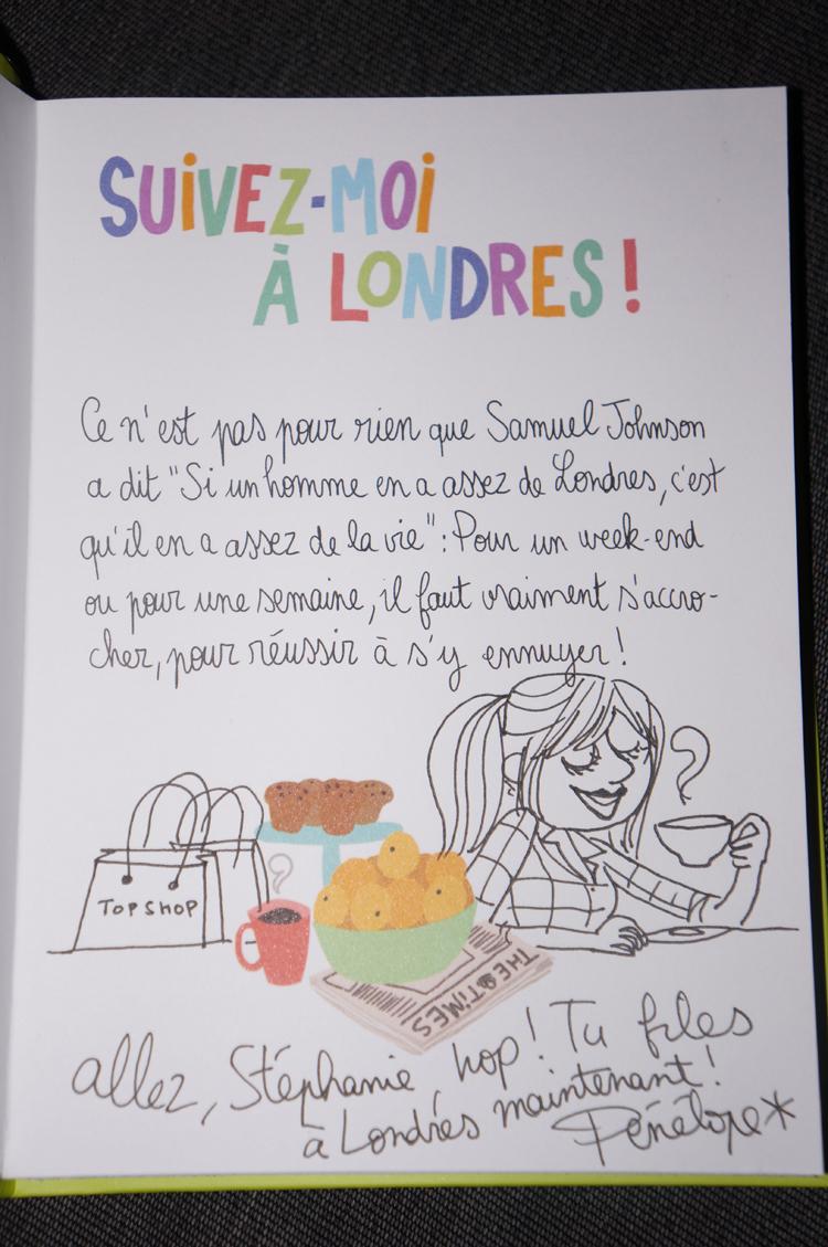 Londres avec Pénélope Bagieu dédicace Salon du Livre 2013
