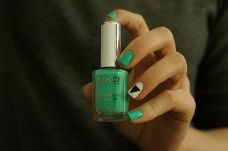 Mint Green Kiko Celebration kit manucure Bourjois