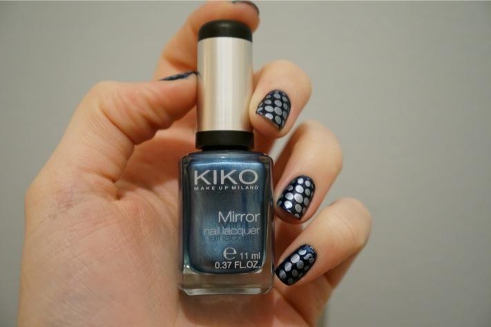 Stamping mirror blue kiko 623 China blue 265