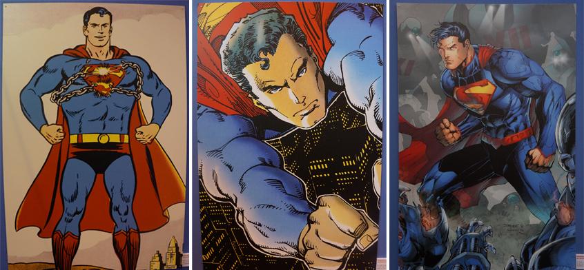 Superman Exposition - Salon du Livre 2013