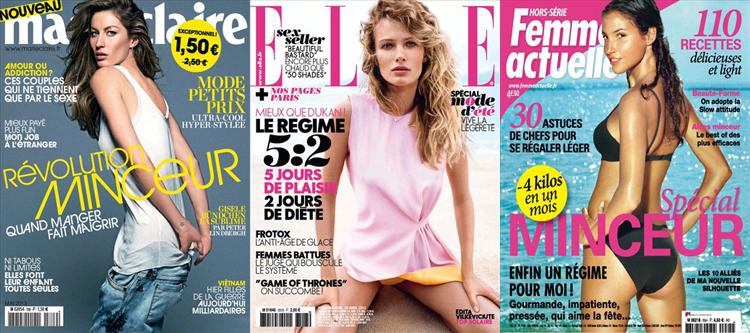 Minceur régime magazines féminins été - Cellu Cup test avis