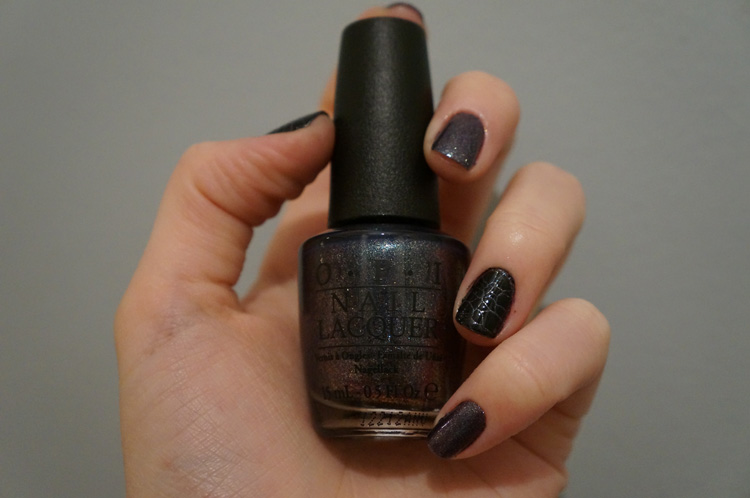 On her majesty's secret service OPI Top Coat effet croco Sephora swatch