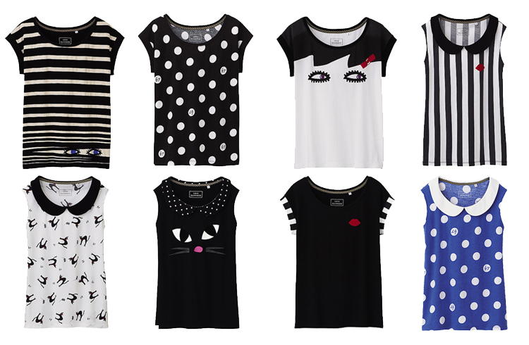Uniqlo Lulu Guinness UT collection